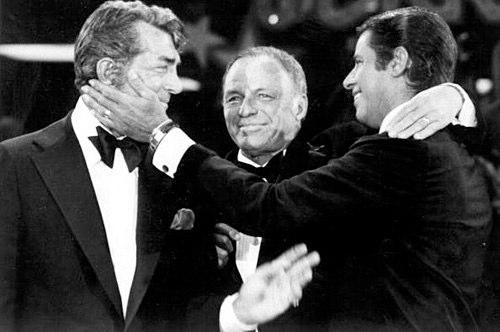 Jerry Lewis, Dean Martin, Frank Sinatra MDA Telethon