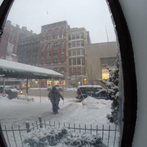 SNOW STORM IN #NEWYORK